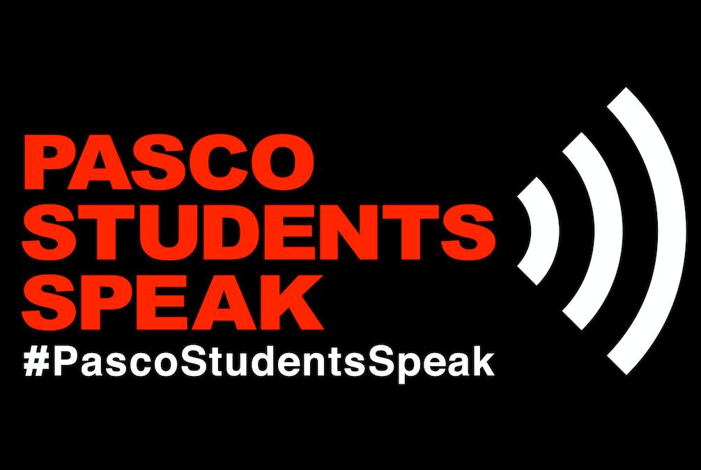 Pasco Student's Speak Event