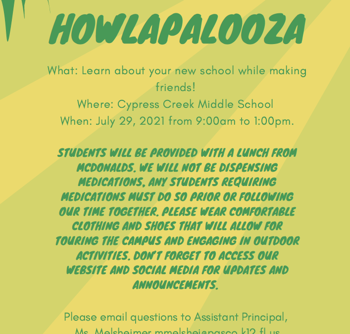 Calling all incoming 6th Grade Coyotes!